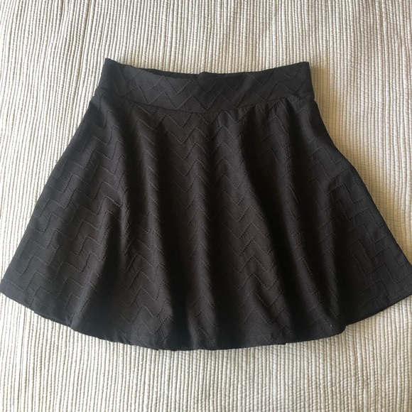 Charlotte Russe Dresses & Skirts - Black Skater Skirt